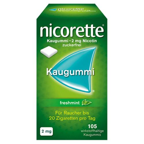 Nicorette Kaugummi freshmint